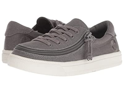 BILLY Footwear Kids Classic Lace Low (Toddler/Little Kid/Big Kid) (Dark Grey) Kids Shoes