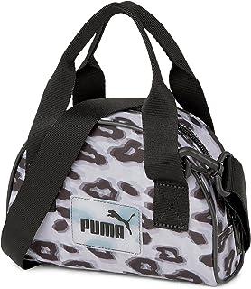 Puma Accessoires 077918 Core UP BP Sporttasche Damen Herren Leopard Mehrfarbig, Groesse OneSize, grau/schwarz