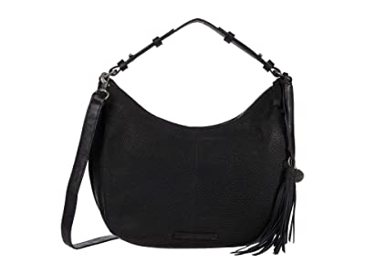 Lucky Brand Ebon Shoulder (Black) Handbags