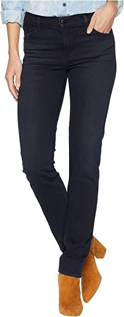 Maude Mid-Rise Cigarette Jeans in Spark
