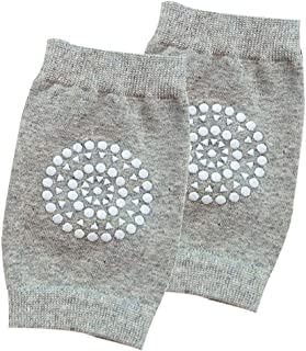 Baby Girls Gray Flower Knit Leg Warmers