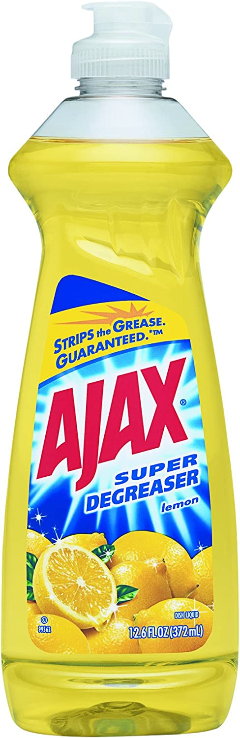 Limited time trial price Ajax 2021 autumn and winter new Super Degreaser Dish - oz 12.6 Liquid-Lemon