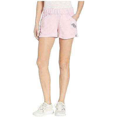 PUMA Yogini 3 Shorts (Pale Pink Heather) Women