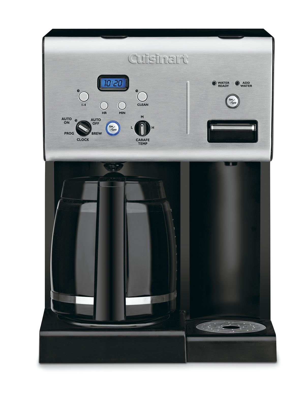 Cuisinart CHW 12 Programmable Coffeemaker Stainless