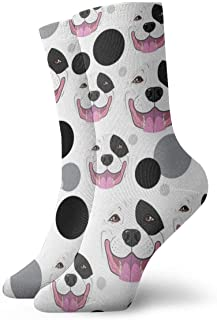 Elsaone, Calcetines de patrón de caniche divertido loco para niñas y niños