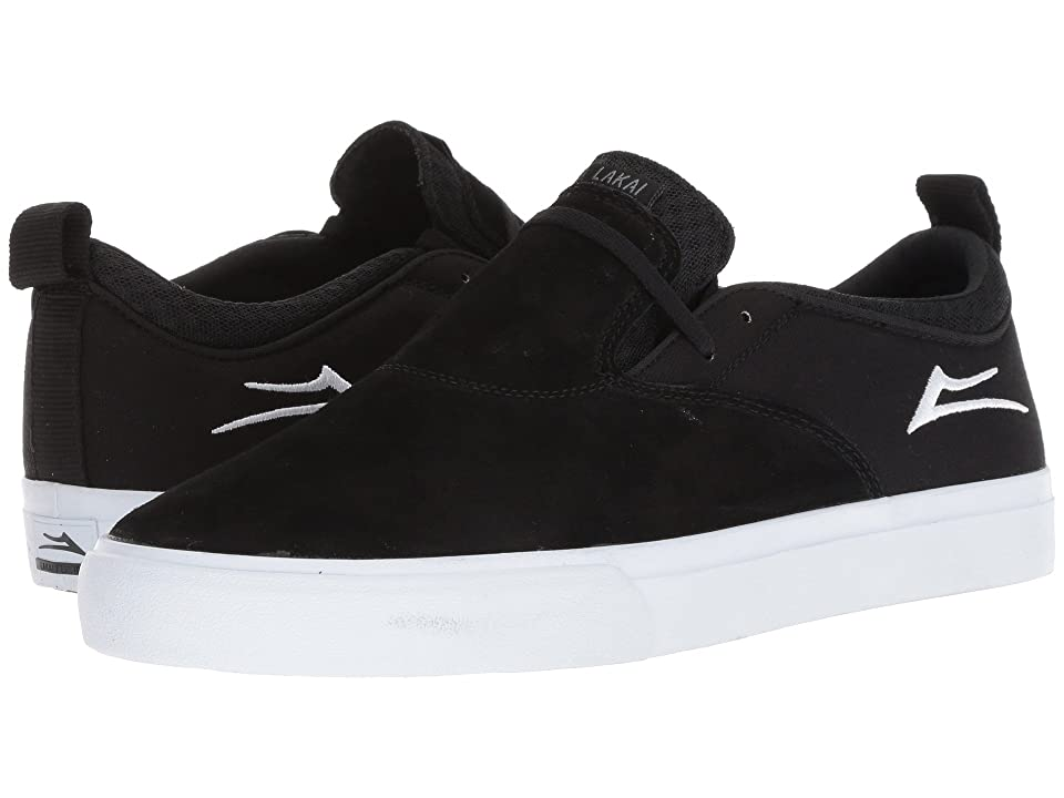Lakai Riley Hawk 2 (Black Suede) Men