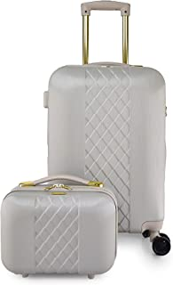 TRACK Luggage set 2 pieces size 20/12 inch 2041/2P (Beige)