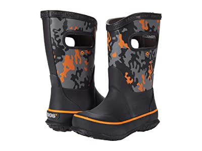 Bogs Kids Rain Boots Neo Camo (Toddler/Little Kid/Big Kid) (Black Multi) Kids Shoes