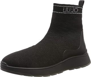 Asia 08 Mid Sock Black, Zapatillas para Mujer
