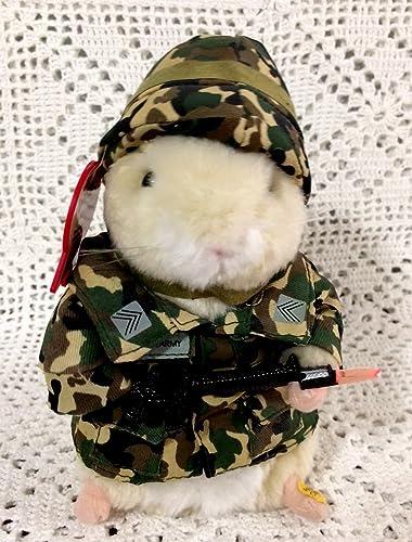 cómodamente Sgt Sgt Sgt Scruffy US Army dancing hamster by Gemmy  saludable