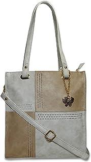 Butterflies Women's Pu Handbag For Ladies and Girls (Cream::Beige) (BNS 0729CRM)