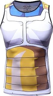Red Plume Men's 3D Compression Shirt Skin Tight Anime Printing Vest …