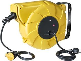 Brennenstuhl Box Electric Elektrische, automatische Kabeltrommel, ABE, gelb, 1241201
