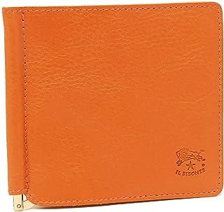[イルビゾンテ]折財布 マネークリップ メンズ IL BISONTE C0471P 166 オレンジ [並行輸入品]