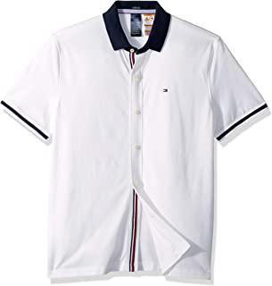 Men's Adaptive Polo Shirt with Magnetic Buttons Custom Fit