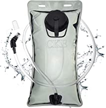 CKE Hydration Bladder 2 Liter 3 Liter Water Bladder for Hydration Backpack BPA Free Leak Proof Water Reservoir Hydration Pack Replacement for Hiking Biking Climbing Cycling Running