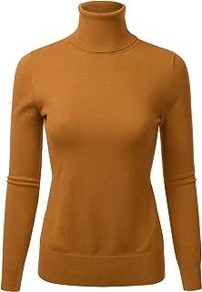 mustard turtleneck sweater