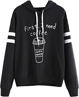 first i need coffee hoodie