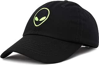 Alien Head Baseball Cap Mens and Womens Hat