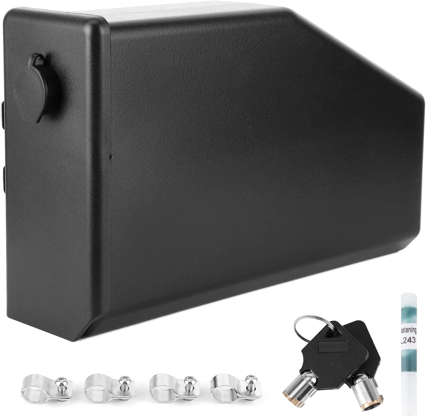 Motorcycle Tool Box Left Fit Under blast sales Accessory Max 54% OFF Side