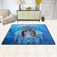 KAIDI-2 Cold Cartoon Turkey Doormat Carpet Outdoor Indoor Rubber Door Mats Non Slip Area Rugs for Front Door Kitchen Bedroom Garden Home 36