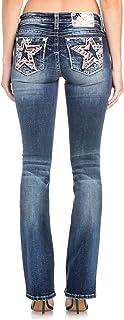Miss Me Star Behavior Slim Bootcut Jeans