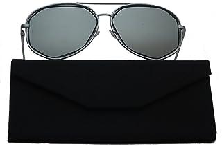 6a89448ec6 DASOON – Gafas de Sol So Real Contour Negro Espejo Unisex, categoría 3 UV400