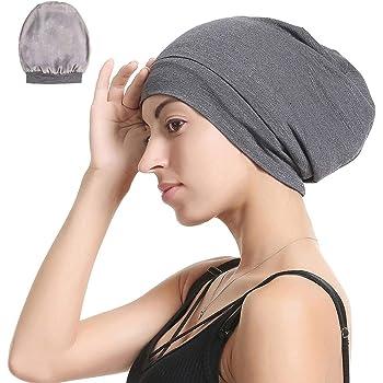 Century Star Turban Cap Men Women Fold Beanie Head Wrap Hair Cover Chemo Hat