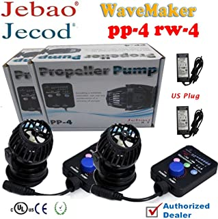2sets Jebao PP4 RW4 Aquarium Fish Tank Controllable Wavemaker Powerhead Coral Reef