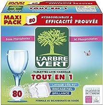 L'arbre vert Tablettes Lave-Vaisselle Hydrosolubles tout en 1,80 Doses Nouveau