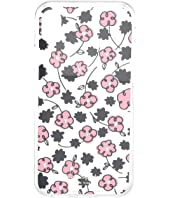 Kate Spade New York - Jeweled Floradoodle Clear Phone Case For iPhone XR