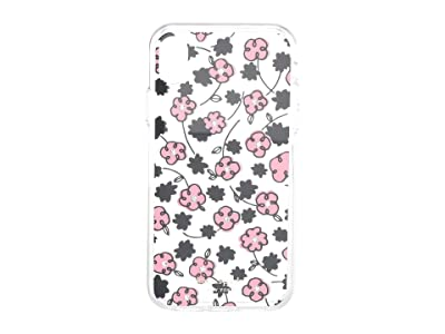 Kate Spade New York Jeweled Floradoodle Clear Phone Case For iPhone XR (Clear Multi) Cell Phone Case