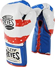 Cleto Reyes Official Lace Up Competition Boxing Gloves - USA