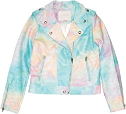 Go Loco/Tie-Dye No Fringes Jacket (Big Kids)