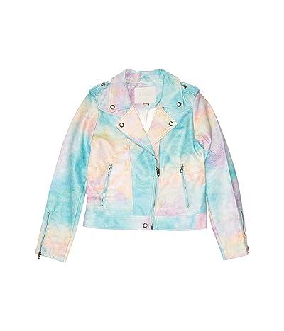 Blank NYC Kids Go Loco/Tie-Dye No Fringes Jacket (Big Kids) (Tie-Dye/Multicolor) Girl