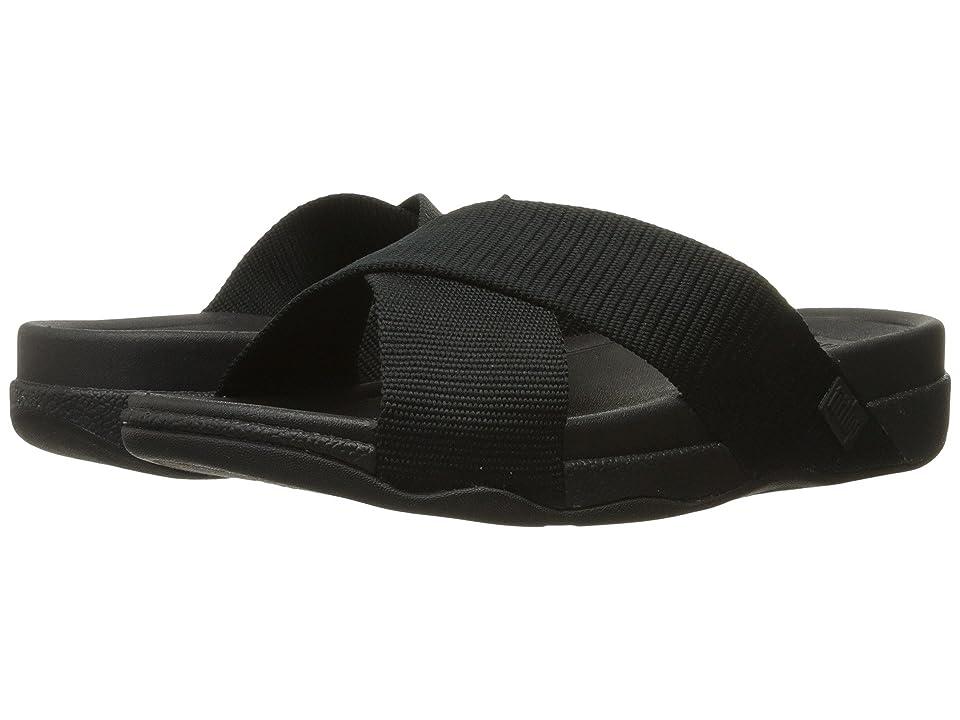 FitFlop Surfer Slide (Black) Men