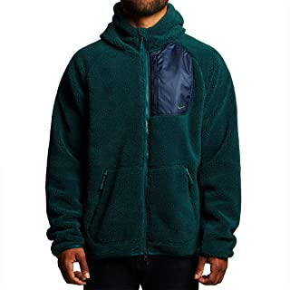 Nike Men's Everett Fleece Full Zip Sherpa Hoodie