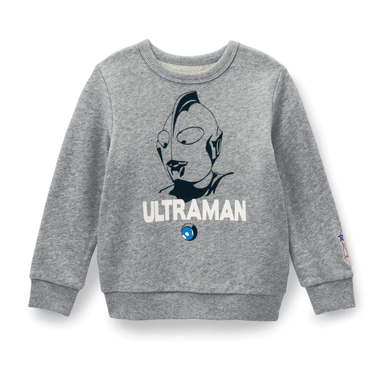 [ベルメゾン] 子ども用 裏毛トレーナー 親子でお揃い ウルトラマン(フェイス)