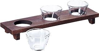 アデリア ガラス 小鉢セット クリア 90ml てびねり三味三昧 日本製 食器洗浄機対応 S-5408