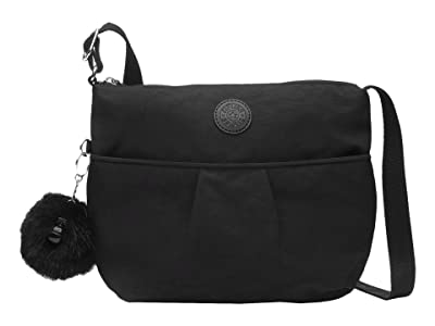 Kipling Ishani Crossbody Bag (Black) Handbags