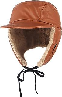 Jelord Sombrero de Invierno Hombre Mujer Cálido Gorro de Aviador Gorro Aviador Invierno Ruso con Orejas para Actividades a...