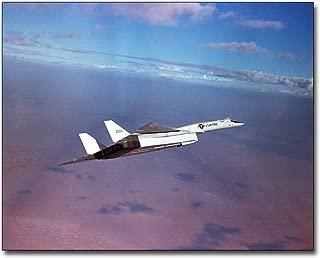 XB-70 / XB-70A Valkyrie Banking in Flight 8x10 Silver Halide Photo Print