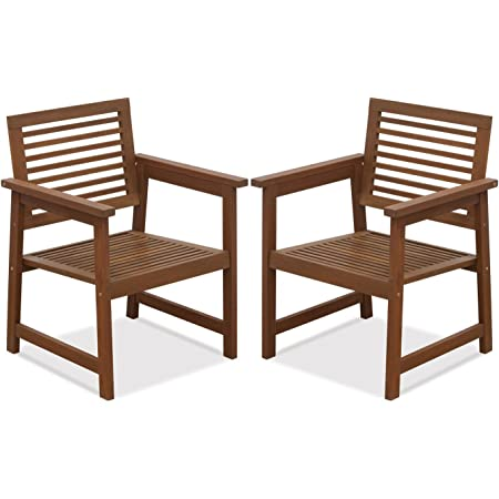 Furinno Tioman Patio Chairs, Natural, one size