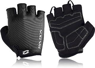 RIVBOS Motorcycle Bicycle Mountain Bike Gloves for Men...
