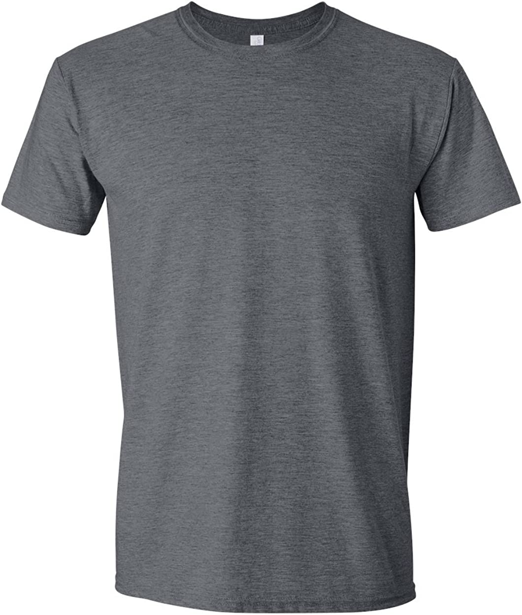 4.5 oz. T-Shirt (G640) Dark Heather, S (Pack of 12)