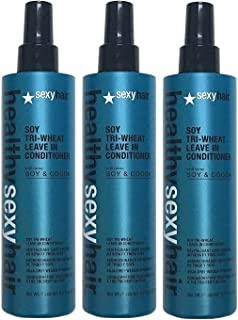 Soy Tri-Wheat Leave in Conditioner with Cocoa 8.5 Oz 3 Pack)…
