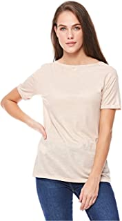Stradivarius T-Shirts For Women L, Beige