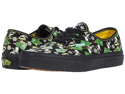 Vans Kids Vans X The Simpsons Sneaker Collection (Big Kid) ((The Simpsons) Glow Bart (Authentic)) Kids Shoes