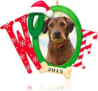 Hallmark Keepsake Ornament: Doggone Good Christmas Photo Frame-Holder