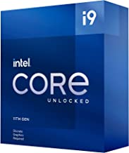 Intel Core i9-11900KF Desktop Processor 8 Cores up to 5.3 GHz Unlocked LGA1200 (Intel 500 Series & Select 400 Series Chips...